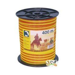 PÁSKA elektrická žluto-oranžová 400 m